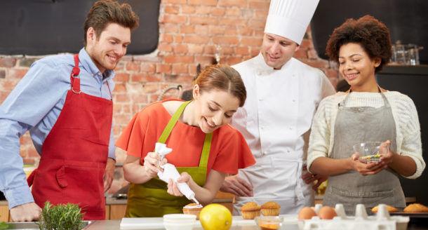 Des cours de cuisine pour une rentrée sous le signe de la gourmandise !