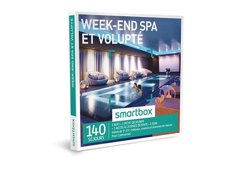 coffret cadeau week end spa et volupt smartbox. Black Bedroom Furniture Sets. Home Design Ideas