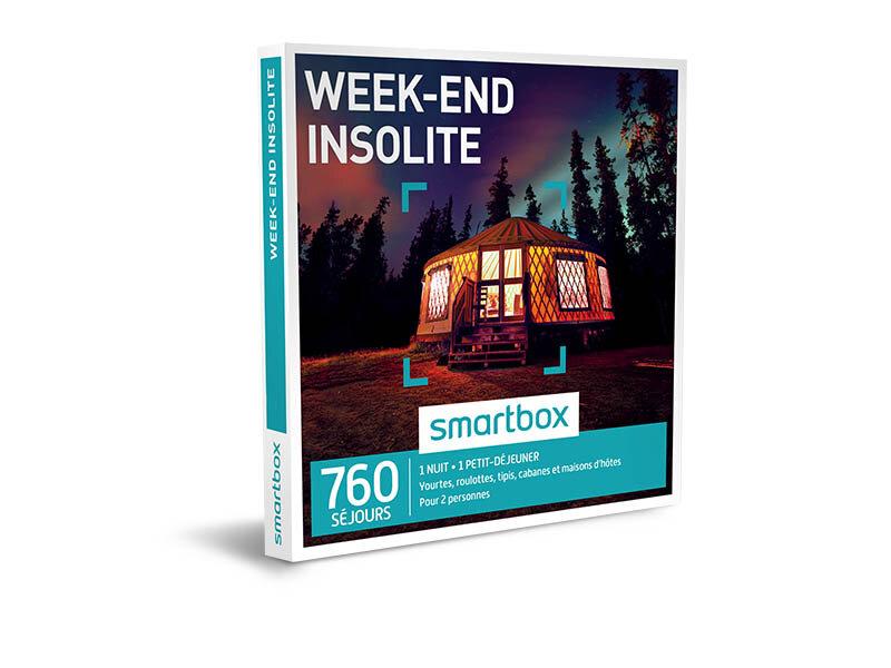 coffret cadeau week end insolite smartbox