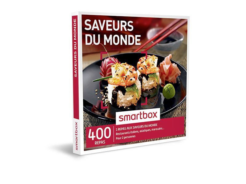 coffret cadeau saveurs du monde smartbox. Black Bedroom Furniture Sets. Home Design Ideas