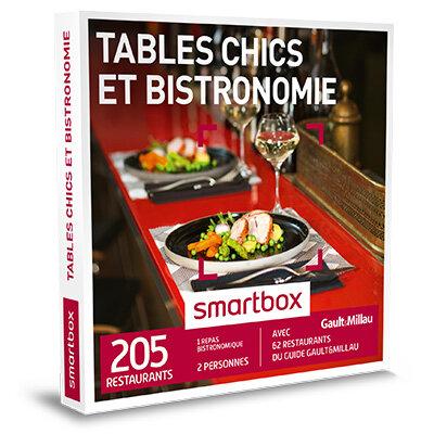Coffret Cadeau Tables chics et bistronomie