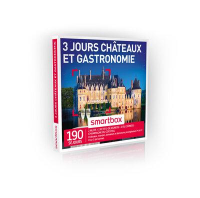 Coffret Cadeau Châteaux et gastronomie 3 jours
