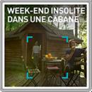 Week-end insolite dans une cabane