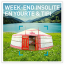 Week-end insolite en yourte & tipi