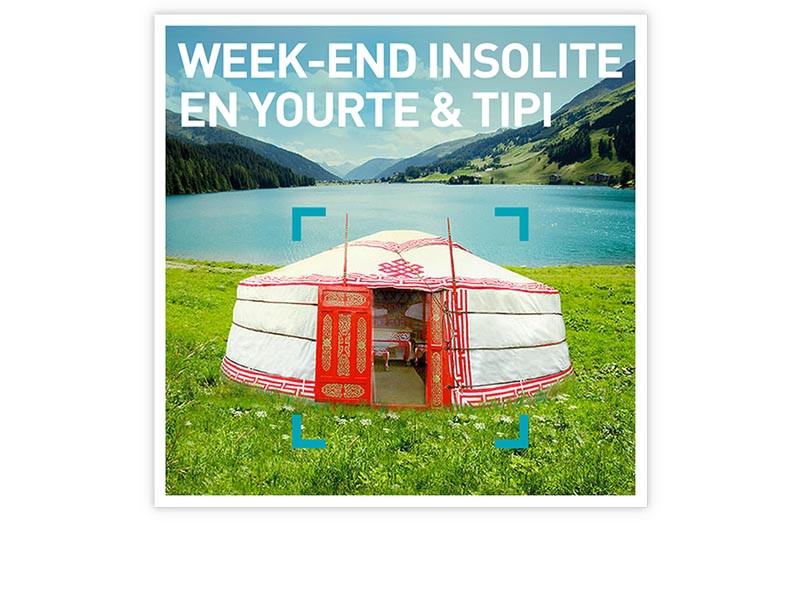 coffret cadeau week end insolite en yourte tipi smartbox. Black Bedroom Furniture Sets. Home Design Ideas