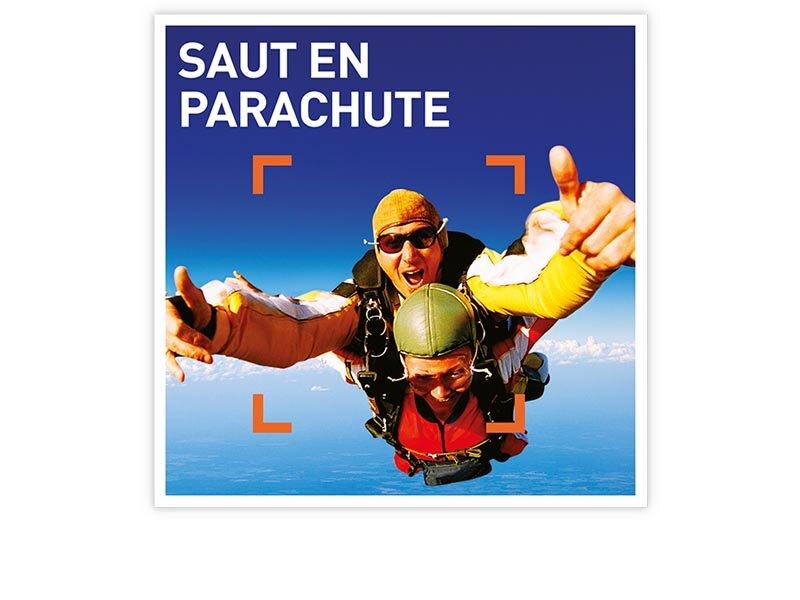 Coffret cadeau saut en parachute smartbox - Saut en parachute nevers ...
