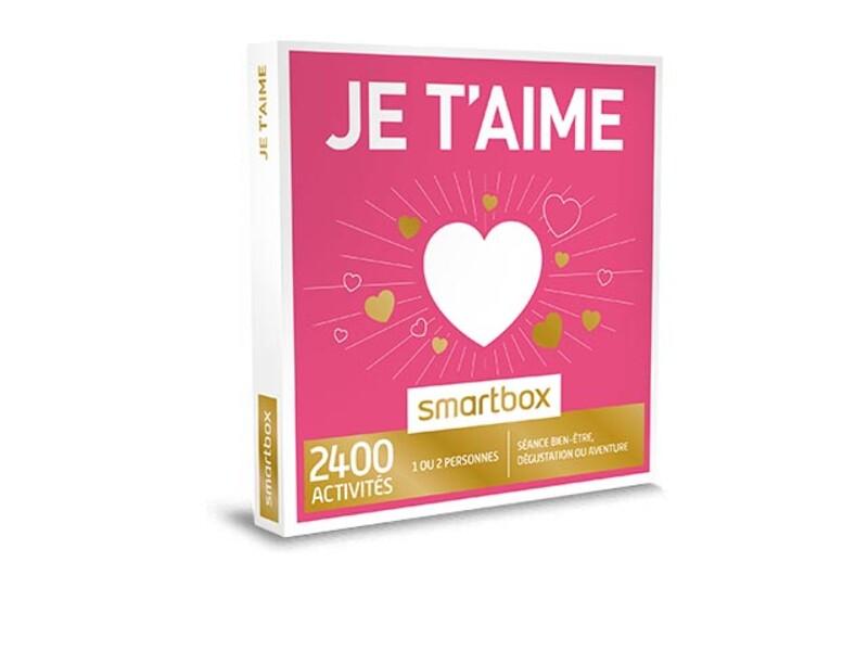 Coffret cadeau je t 39 aime smartbox - Je choisis mon cadeau ...