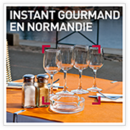 Instant gourmand en Normandie