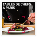 Tables de chefs à Paris