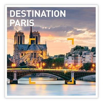 Coffret Cadeau Destination Paris