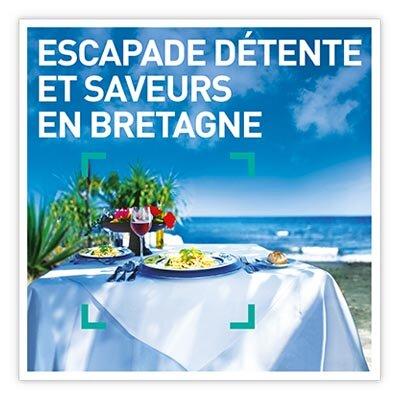 Coffret Cadeau Escapade détente et saveurs en Bretagne