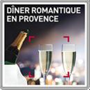 Dîner romantique en Provence