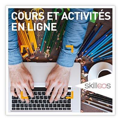 Coffret Cadeau Cours et activités en ligne