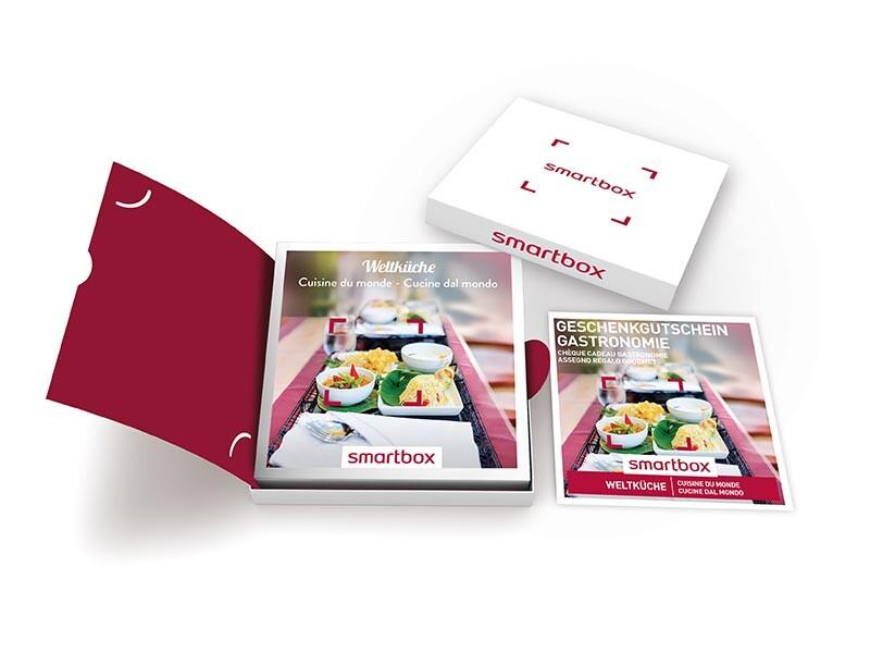 coffret cadeaux cuisine du monde - smartbox - Box Cadeau Cuisine