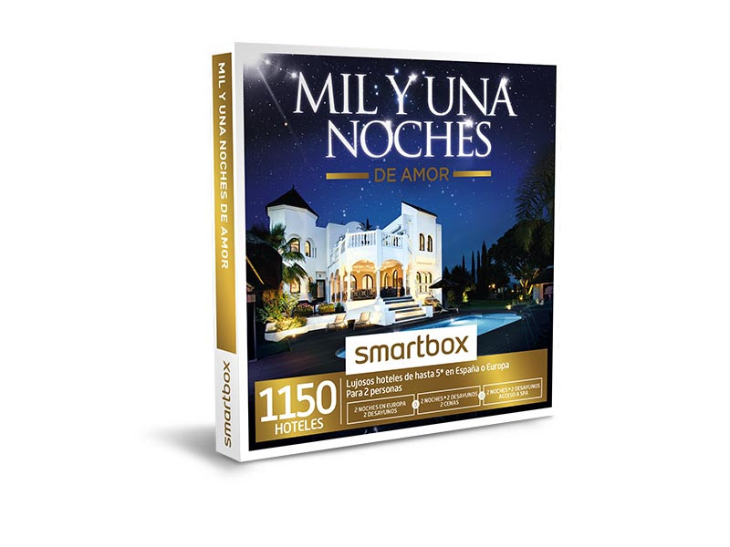 Mil y una noches de amor oferta hotel en Smartbox .com