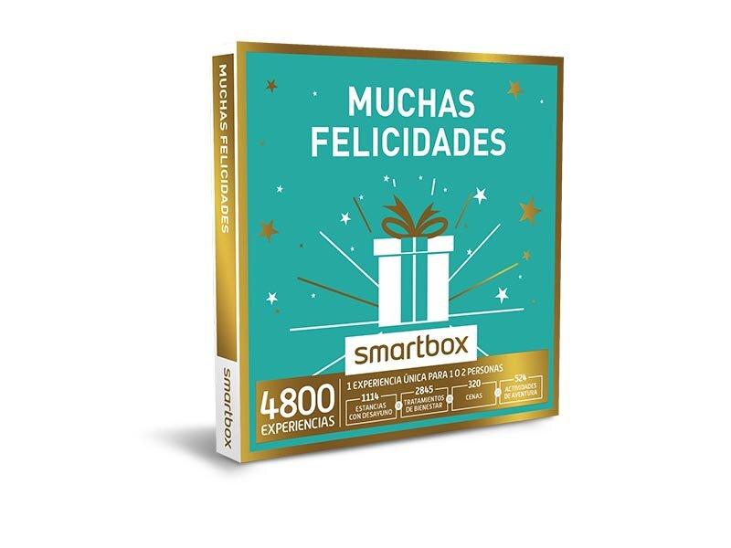 Caja regalo muchas felicidades smartbox - Smartbox cocinas del mundo ...