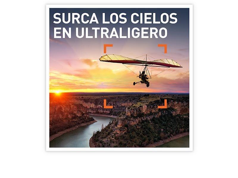Surca los cielos en ultraligero en Smartbox por 179.90€
