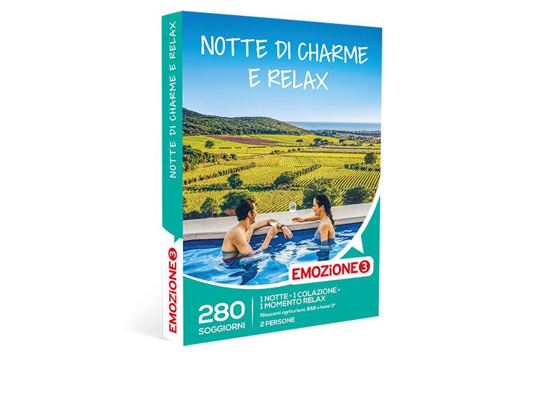 Cofanetto regalo - Notte di charme e relax - Emozione3