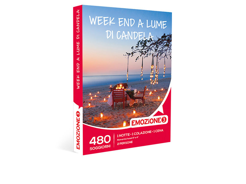 Cofanetto regalo - Week end a lume di candela - Emozione3
