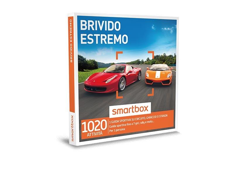 Cofanetto regalo Brivido estremo - Smartbox