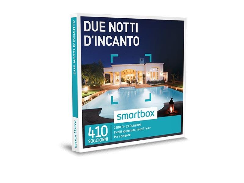 Cofanetto regalo Due notti dincanto - Smartbox