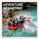 Avventure in rafting
