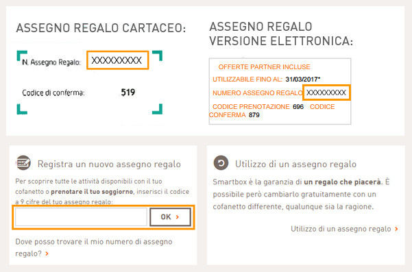 Domande frequenti - Smartbox