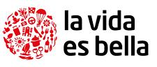 La vida es bella Logo