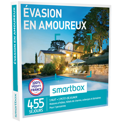 week end en amoureux smartbox. Black Bedroom Furniture Sets. Home Design Ideas