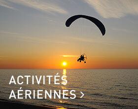 Activités aériennes