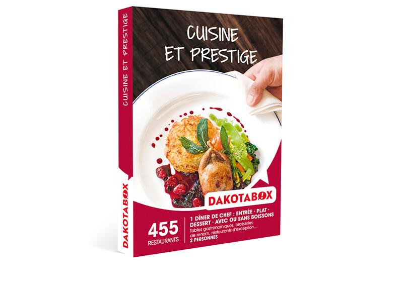 coffret cadeau cuisine et prestige - dakotabox - Box Cadeau Cuisine