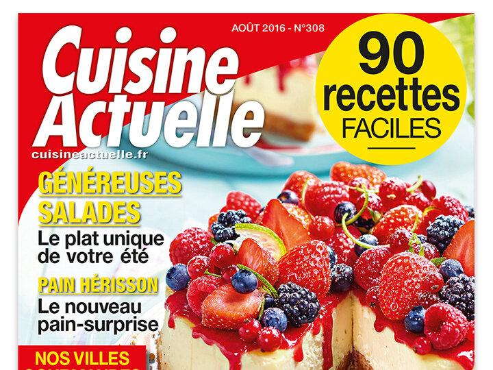magazine cuisine actuelle finest cuisine actuelle lance le nouvel horssrie with magazine. Black Bedroom Furniture Sets. Home Design Ideas