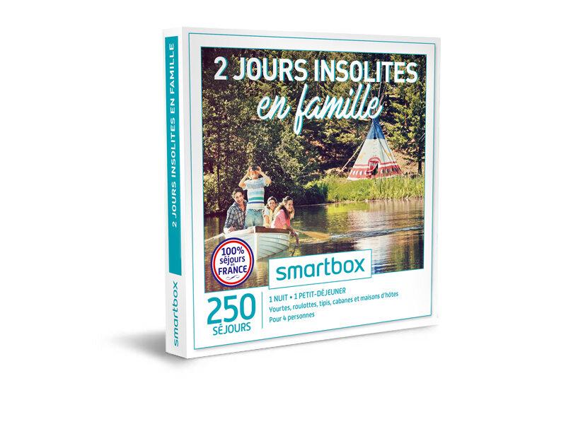 coffret cadeau 2 jours insolites en famille smartbox. Black Bedroom Furniture Sets. Home Design Ideas
