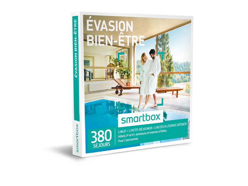 coffret cadeau vasion bien tre smartbox. Black Bedroom Furniture Sets. Home Design Ideas