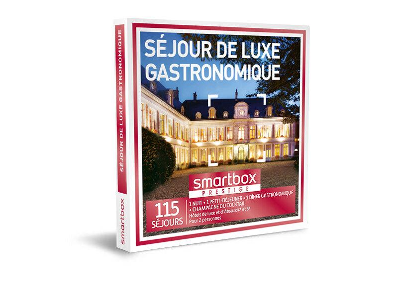 Coffret cadeau Séjour de luxe gastronomique - Smartbox