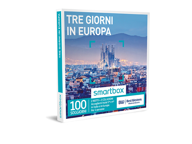 Cofanetto regalo - Tre giorni in Europa - Smartbox