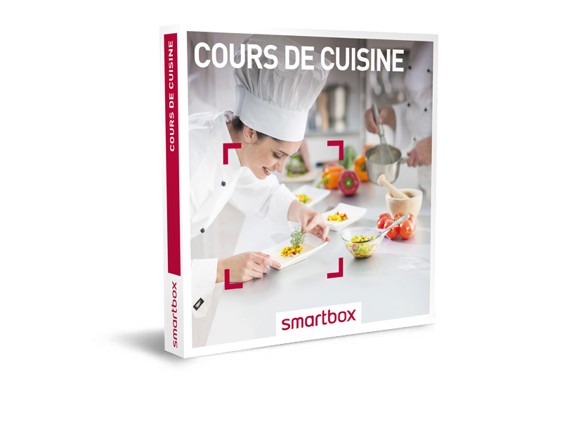 coffret cadeau cours de cuisine smartbox. Black Bedroom Furniture Sets. Home Design Ideas