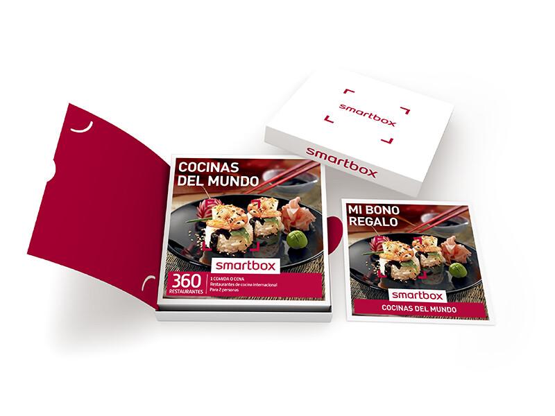 Caja regalo cocinas del mundo smartbox - Smartbox cocinas del mundo ...