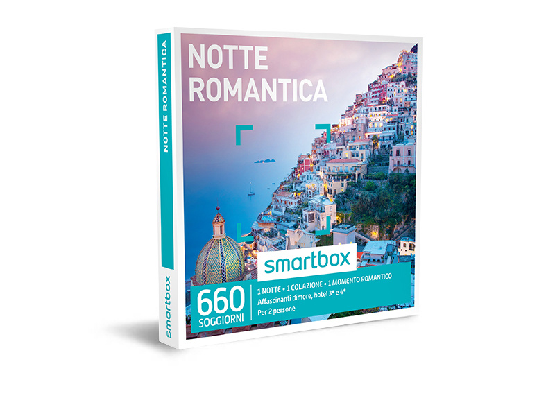 Cofanetto regalo - Notte romantica - Smartbox