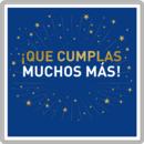 Feliz cumpleaños: ¡que cumplas muchos más!