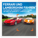 Un giro in Ferrari e Lamborghini