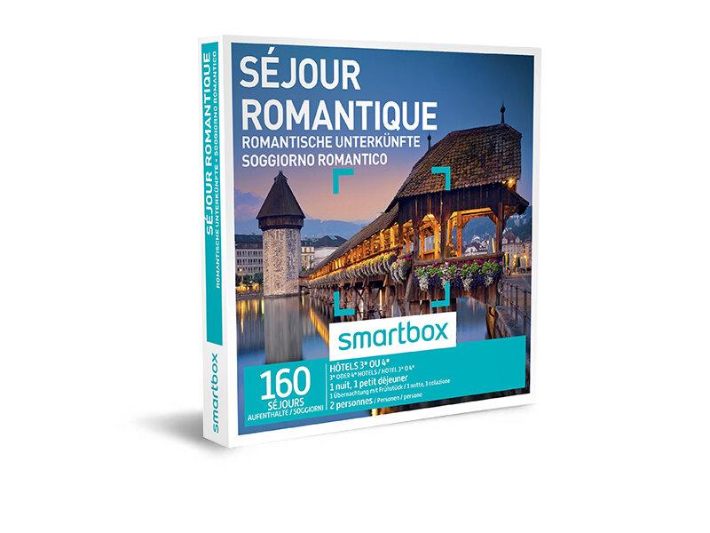 Coffret cadeau - Séjour romantique - Smartbox
