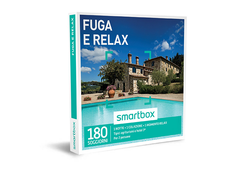Cofanetto regalo - Fuga e relax - Smartbox