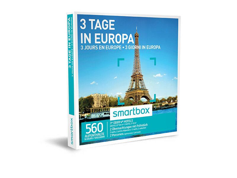 Cofanetto regalo - 3 giorni in Europa - Smartbox