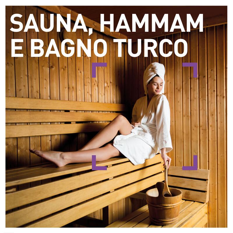 Sauna, hammam e bagno turco