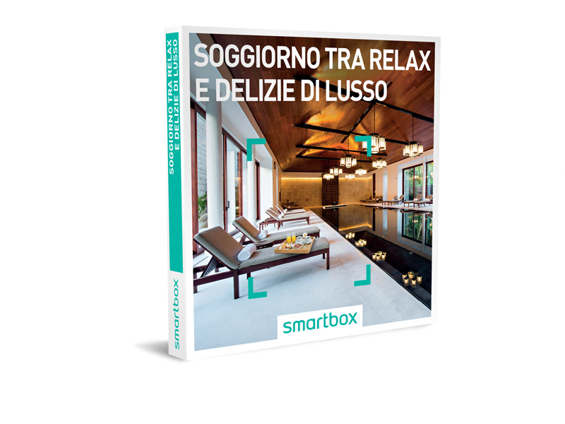 Cofanetto regalo - Soggiorno tra relax e delizie di lusso - Smartbox
