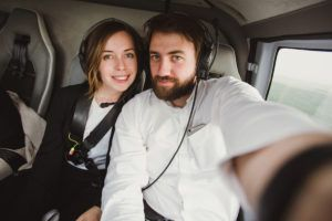 Bapteme hélicoptère à deux