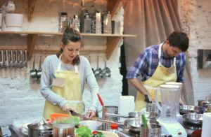cours de cuisine en amoureux