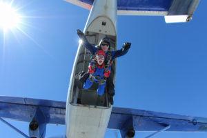 Coffret cadeau Saut en parachute