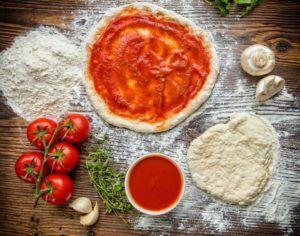 pate a pizza recette